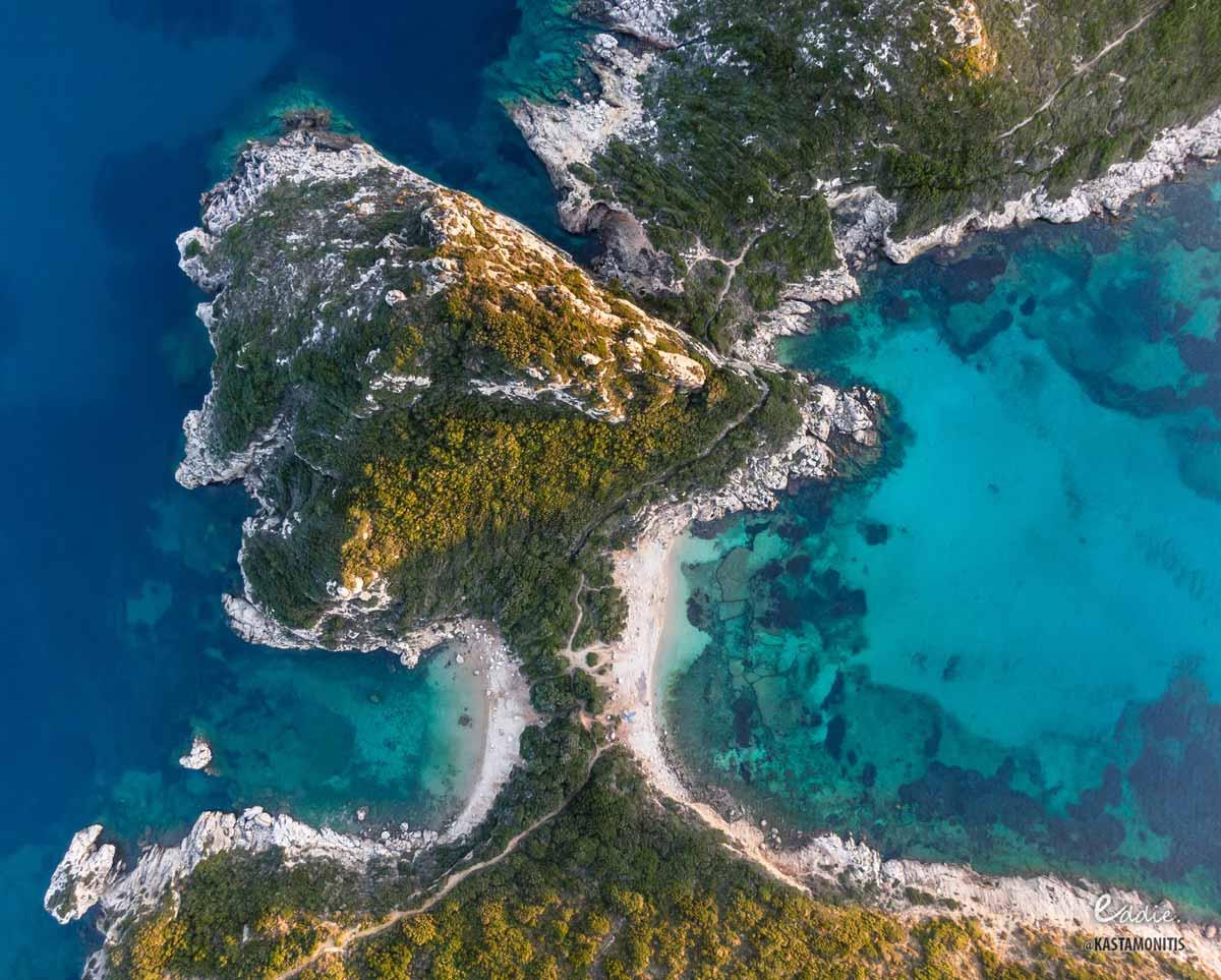 carpofoli corfu beaches porto timoni