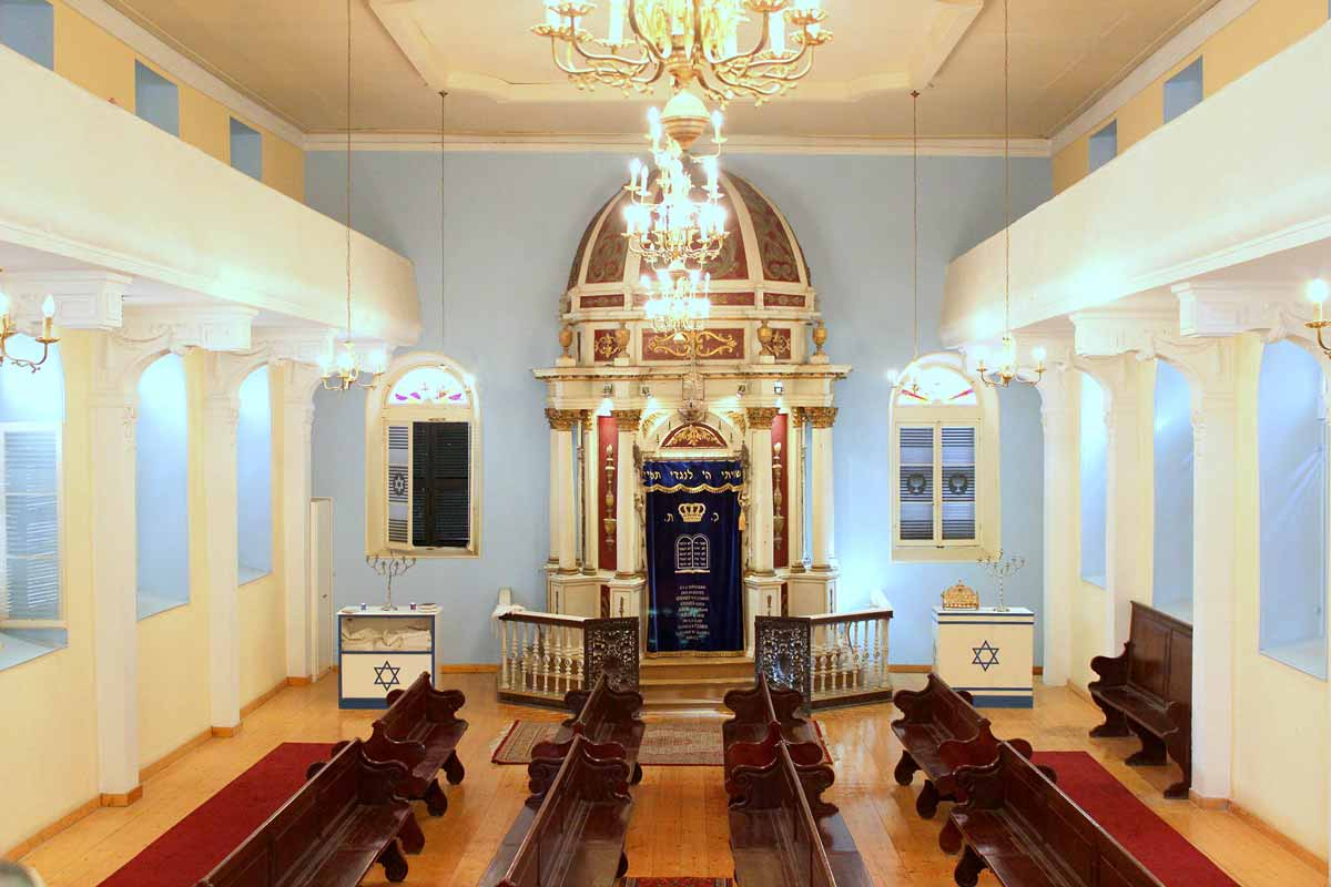 The Synagogue of Corfu carpofoli corfu suites places of interest tempio greco synagogue