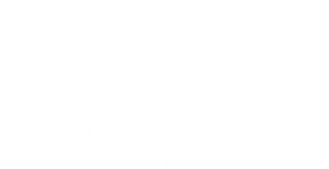 carpofoli corfu logo white